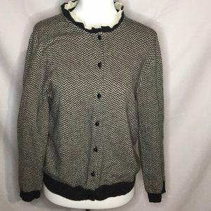 J.crew cashmere blend sweater! Large